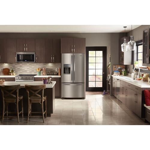 Gallery - 36-inch Wide French Door Refrigerator - 25 cu. ft.
