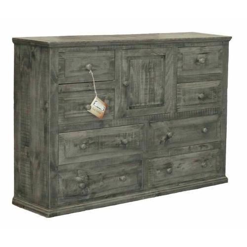 Million Dollar Rustic - Charcoal Gray Econo Dresser