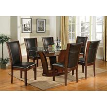 See Details - 7-piece Dining Set - Brown