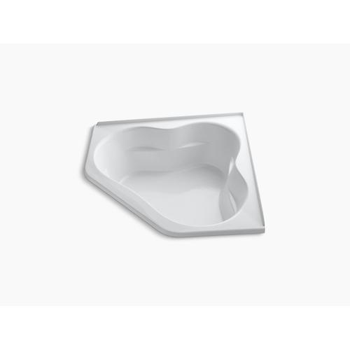 "Biscuit 60"" X 60"" Bath With Integral Flange and Center Drain"