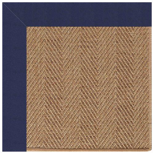 "Capel Rugs - Islamorada-Herringbone Canvas Royal Navy - Rectangle - 24"" x 36"""
