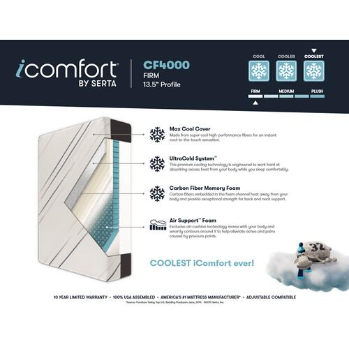 iComfort - CF4000 - Firm - Twin