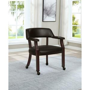 417brn In By Coaster In Lubbock Tx Modern Brown Office Chair