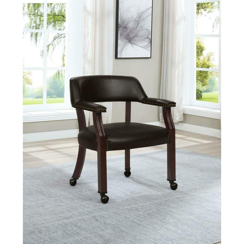 View Product - Modern Brown Office Chair