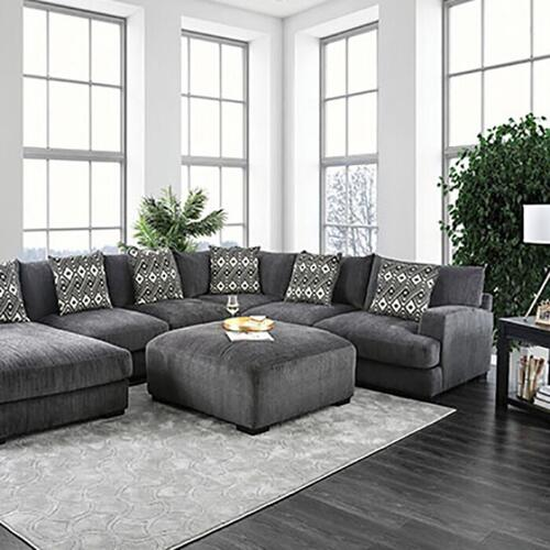 Furniture of America - Kaylee U-sectional W/ Left Chaise