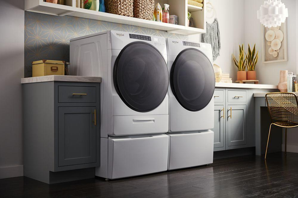 4.5 cu. ft. Closet-Depth Front Load Washer with Load & Go XL Dispenser Photo #5