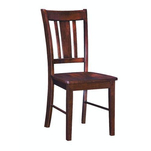 John Thomas Furniture - San Remo Chair in Espresso