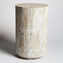 See Details - Driftwood Drum Table