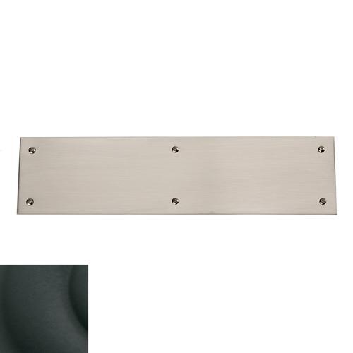 Baldwin - Satin Black Square Edge Push Plate