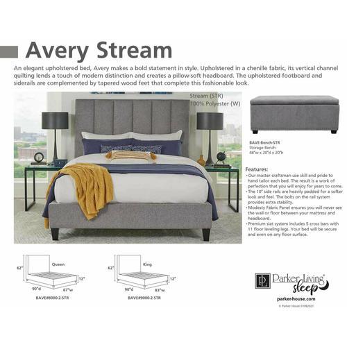 Parker House - AVERY - STREAM Storage Bench