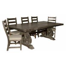 See Details - Savannah Barnwood Dining Set