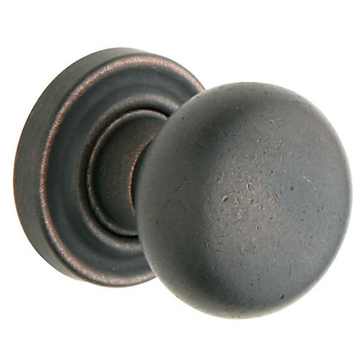 Baldwin - Distressed Oil-Rubbed Bronze 5030 Estate Knob