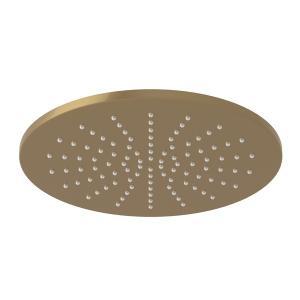 "French Brass Michael Berman Graceline 8"" Circular Rain Showerhead Product Image"