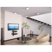 Dual AV Wall Shelf with Glass