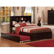 Newport Full Flat Panel Foot Board with Urban Trundle Espresso