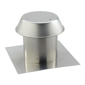 Broan-NuTone® 8-Inch, Roof Cap, For Flat Roof, Aluminum -