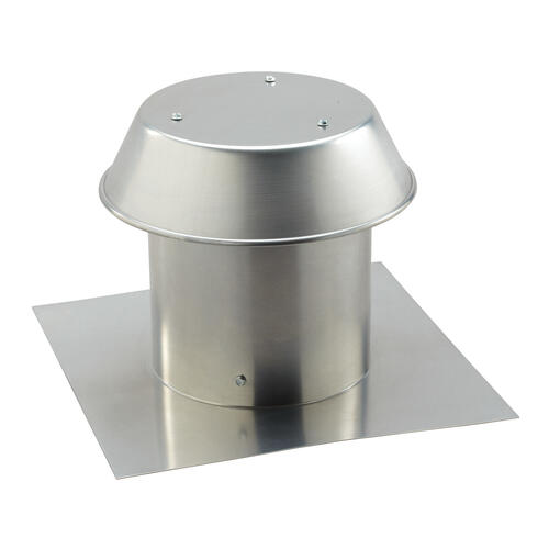 Broan - Broan-NuTone® 8-Inch, Roof Cap, For Flat Roof, Aluminum