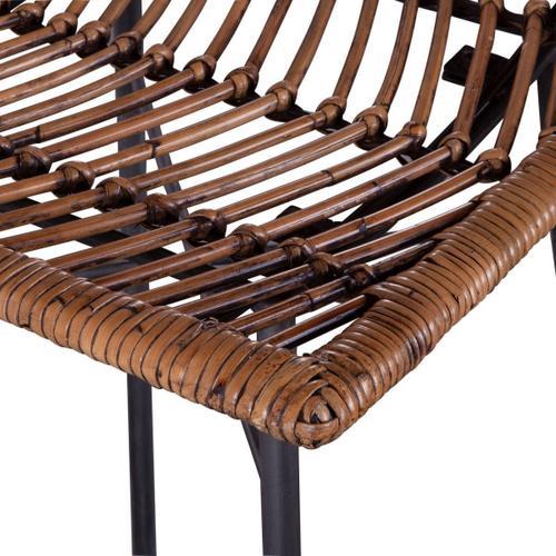 Kubu Bar Chair Jawit Honey Brown