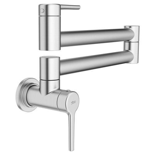 American Standard - Studio S Pot Filler Kitchen Faucet  American Standard - Stainless Steel
