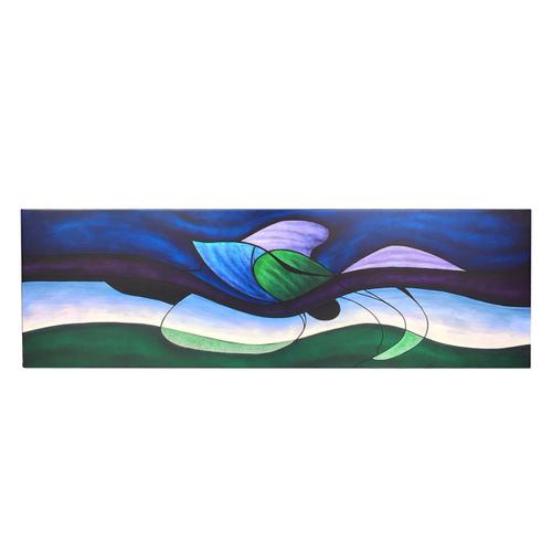 Illusions Blue Waves Cabinet