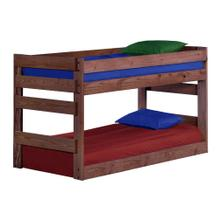 Twin Bottom Bunk Bed w/Queen Rails