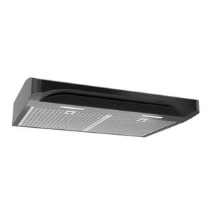 BroanBroan® Elite 30-Inch Convertible Under-Cabinet Range Hood, Black