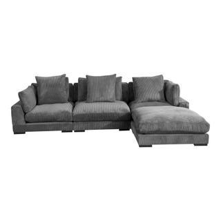 Tumble Lounge Modular Sectional Charcoal