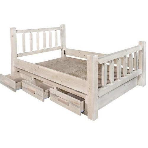 Montana Woodworks - Homestead Collection Beds with Storage