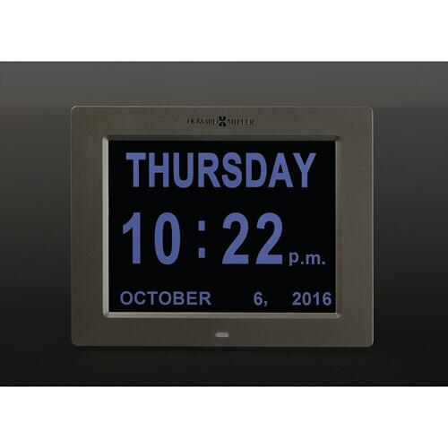 Howard Miller Memory Digital Wall Clock 625632