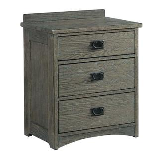 Oak Park Nightstand  Pewter