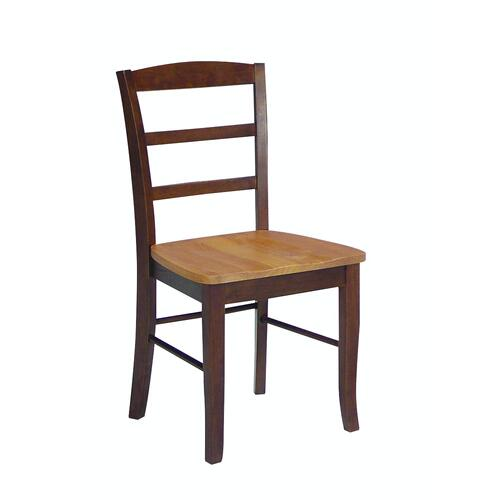 Madrid Chair in Cinnamon & Espresso