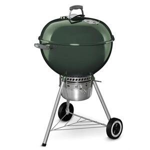 WeberORIGINAL KETTLE™ PREMIUM CHARCOAL GRILL - 22 INCH GREEN
