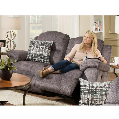 Victory Power Recline Reclining Sofa with Power Headrest & USB