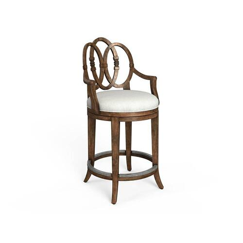 Thoroughbred Whirlaway Counter Stool - Toast