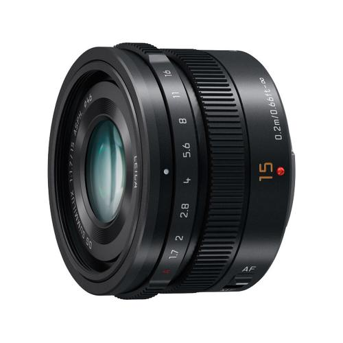 LUMIX G LEICA DG SUMMILUX Lens, 15mm, F1.7 ASPH., Professional Micro Four Thirds - H-X015K