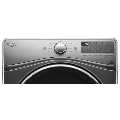 Gallery - 7.4 cu.ft Front Load Electric Dryer with Advanced Moisture Sensing, EcoBoost