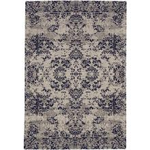 Cosmic-Kirman Navy Hand Loomed Area Rugs