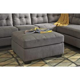 See Details - Maier Oversized Accent Ottoman Charcoal