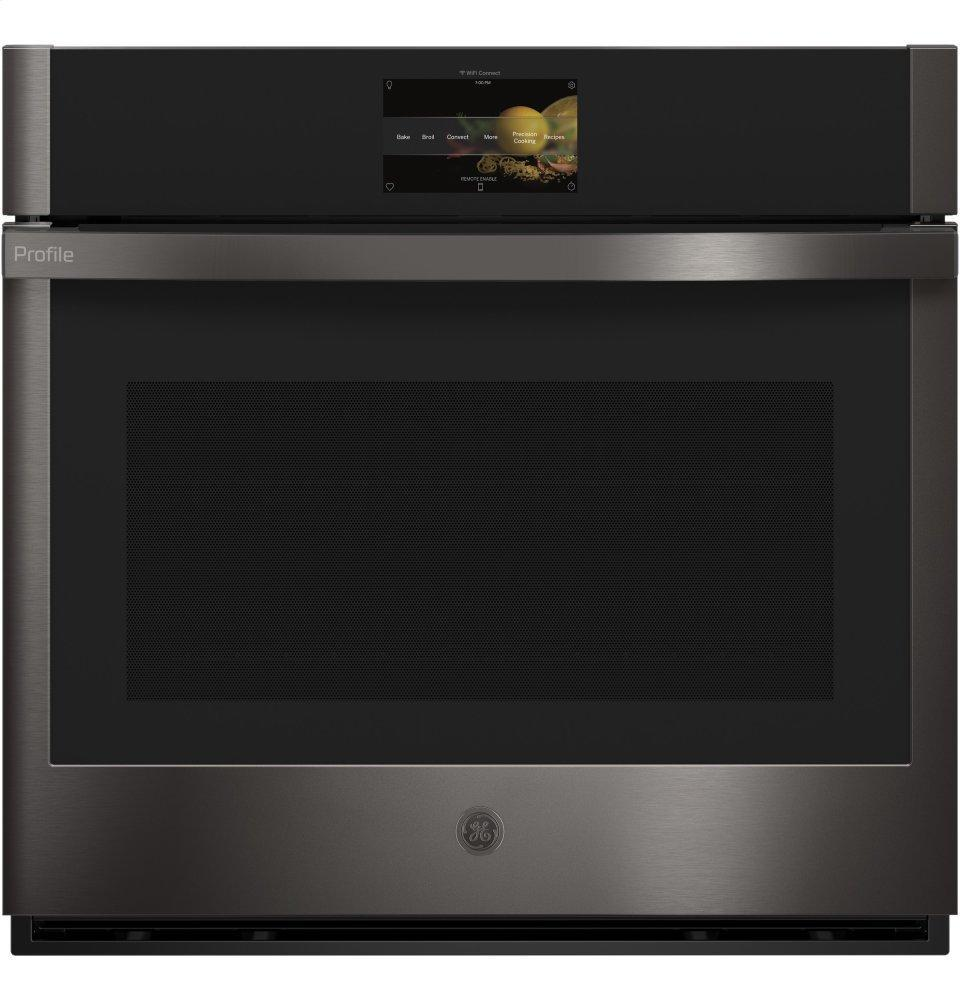 """GE Profile30"""" Smart Built-In Convection Single Wall Oven With No Preheat Air Fry And Precision Cooking"""