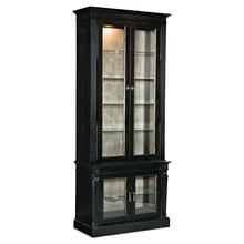 Dining Room Sanctuary Display Cabinet Noir