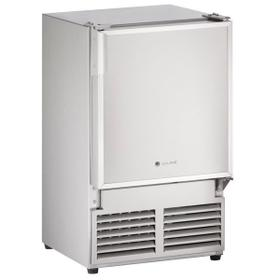 """14"""" Crescent Ice Maker With Stainless Solid Finish (230 V/50 Hz Volts /50 Hz Hz)"""