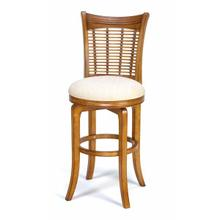 Bayberry Swivel Barstool - Oak