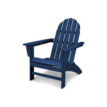 Navy Vineyard Adirondack Chair