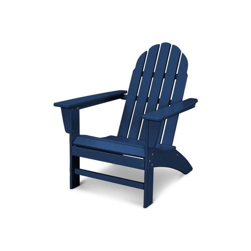 Navy Vineyard Adirondack Chair