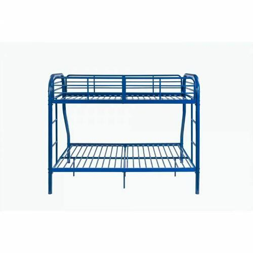 ACME Tritan Twin/Full Bunk Bed - 02043BU - Blue