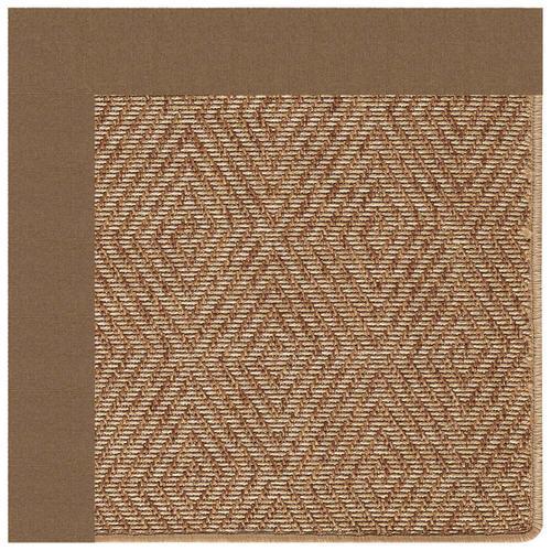 """Capel Rugs - Islamorada-Diamond Canvas Cocoa - Rectangle - 24"""" x 36"""""""