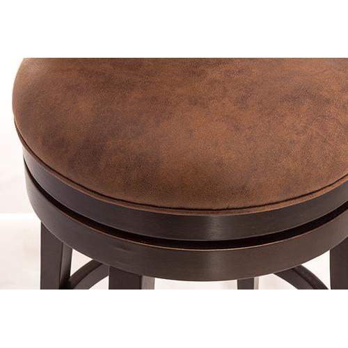 Gallery - Edenwood Swivel Counter Stool - Chocolate & Chestnut