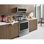 KitchenAid 30-Inch 5-Element Electric Convection Range - Stainless Steel