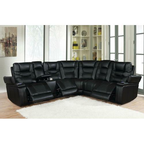 Coaster - 6 PC Power2 Sectional