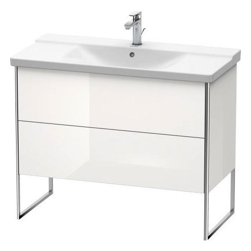 Product Image - Vanity Unit Floorstanding, White High Gloss (lacquer)